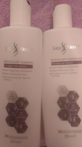 Salon Science haircare makes my thin, frizzy, curly mane silky soft and made for a good blow dry