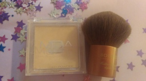 MUA pressed powder in shade 1. Cheap and cheerful, and does a great job!